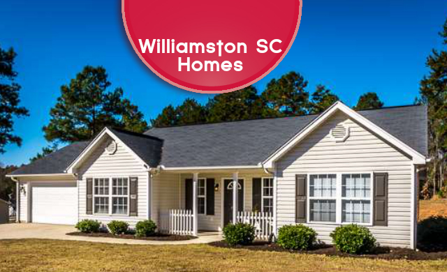 homes and lake for sale in williamston sc