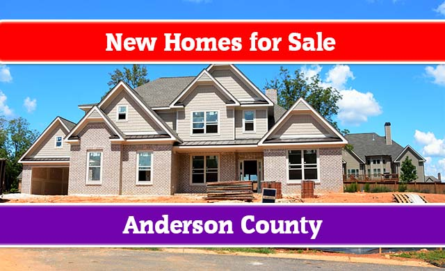 new homes for sale in anderson sc