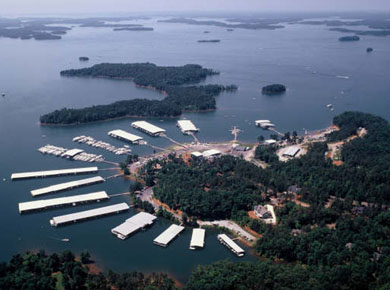 portman marina in anderson sc on lake hartwell